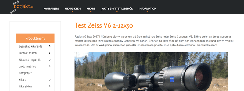 Test Zeiss Conquest V6 2-12x50