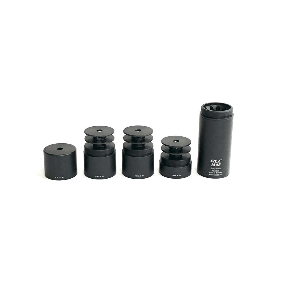 RCC M48 ljuddämpare