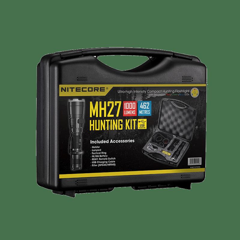 nitecore mh27 eftersökspaket