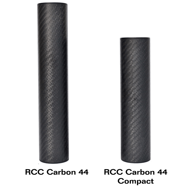 RCC Carbon 44 serie ljuddämpare