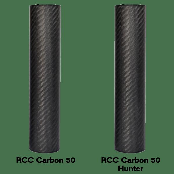 RCC Carbon compact 50 ljuddämpare